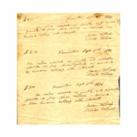 Wilcox, Abner - Legal papers and teaching credentials - 1835.04.01 - Deed to land (Harwinton)