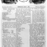 The Friend - 1883.07.01 - Newspaper