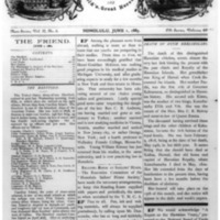 The Friend - 1883.06.01 - Newspaper
