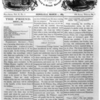 The Friend - 1883.03.01 - Newspaper