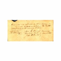 Wilcox, Abner - Legal papers and teaching credentials - <br /><br />
