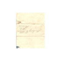 Wilcox, Lucy E. (Hart) - Letters to Lucy Eliza Hart Wilcox at Hilo - Knapp, Charlotte C. (Waimea) ~ ------, 1837 or 1838
