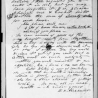 Alexander, William Patterson - Missionary Letters - 1846 - To Castle & Cooke and Hall from Lahainaluna