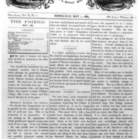 The Friend - 1883.05.01 - Newspaper