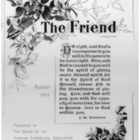 The Friend - 1902.08 - Newspaper