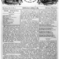 The Friend - 1883.04.02 - Newspaper