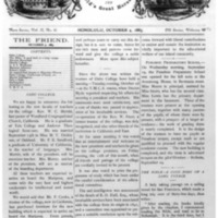 The Friend - 1883.10.04 - Newspaper
