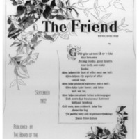 The Friend - 1902.09 - Newspaper