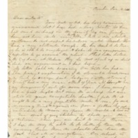 Wilcox, Lucy E. (Hart) - Letters to Lucy Eliza Hart Wilcox at Waioli - Rice, Mary S. (Punahou) ~ January 16, 1850