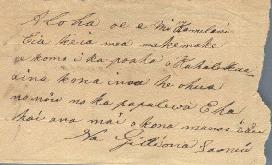 Laanui, Gideon - Ali`i Letters - 1831 - to Chamberlain, Levi