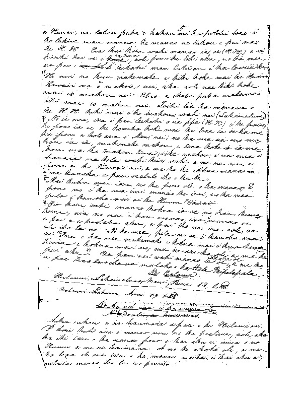Kalama, S. P. - Ali`i Letters - 1838.06.19 - to Unknown
