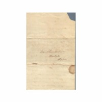 Wilcox, Abner and Lucy E. (Hart) - Letters written to Maria Patton Chamberlain - 1839.10.03 - Wilcox, Lucy (Hilo)