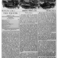 The Friend - 1861.03.01 - Newspaper