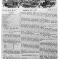 The Friend - 1868.06.01 - Newspaper