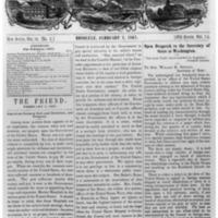 The Friend - 1867.02.01 - Newspaper