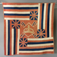 HMH Material Culture Collection - Hawaiian Flag Quilt - Beloved Flag - 1979.21.1