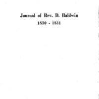 Baldwin, Dwight_1830-1831_Journal_Typescript.pdf