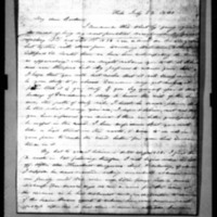 Andrews, Seth - Missionary Letters - 1839 - Parnelly Andrews to brother
