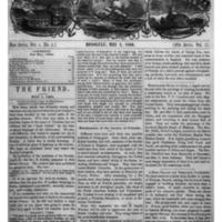 The Friend - 1860.05.01 - Newspaper