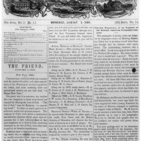 The Friend - 1868.01.01 - Newspaper