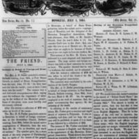 The Friend - 1864.07.01 - Newspaper