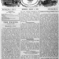 The Friend - 1878.08.01 - Newspaper