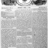 The Friend - 1878.04.01 - Newspaper