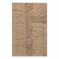 Wilcox, Abner and Lucy E. (Hart) - Letters written to Maria Patton Chamberlain - 1839.01.22 - Wilcox, Lucy (Hilo)