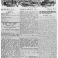The Friend - 1867.01.01 - Newspaper