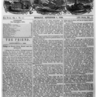The Friend - 1860.09.08 - Newspaper