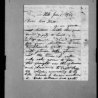Wilcox, Abner - Missionary Letters - 1844-1845 - to Depository