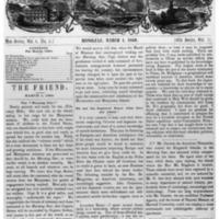 The Friend - 1860.03.01 - Newspaper