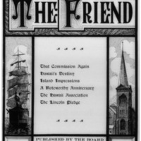 The Friend - 1908.10 - Newspaper