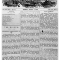 The Friend - 1868.08.01 - Newspaper