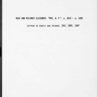 Alexander, William Patterson_0017_1841-1887_Original Letters of Mrs Wm Alexander (Mary Ann Mc Kinney).pdf