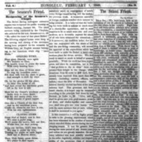 The Friend - 1848.02.01 - Newspaper