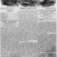 The Friend - 1861.01.01 - Newspaper