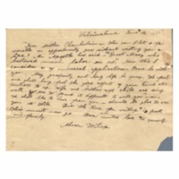 Wilcox, Abner and Lucy E. (Hart) - Letters written to Maria Patton Chamberlain - 1838.06.12 - Wilcox, Abner (Lahainaluna)