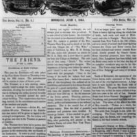 The Friend - 1864.06.01 - Newspaper