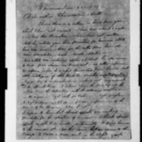 Lyons, Lorenzo - Missionary Letters - 1839-1843 - to Depository