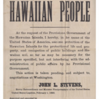 Provisional Government_18930201_Public Notice from United States Minister, John L. Stevens.pdf