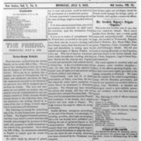 The Friend - 1852.07.02 - Newspaper