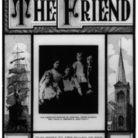 The Friend - 1908.07 - Newspaper