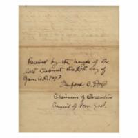 Kingdom of Hawaii - 1893.01.17 - Statement from Queen Liliuokalani