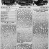 The Friend - 1864.05.01 - Newspaper