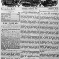 The Friend - 1864.08.04 - Newspaper