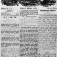 The Friend - 1864.02.05 - Newspaper
