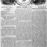 The Friend - 1878.09.02 - Newspaper