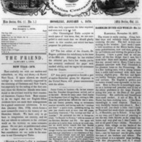 The Friend - 1878.01.01 - Newspaper