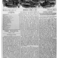 The Friend - 1868.04.01 - Newspaper